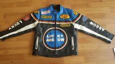 Genuine leather jacket size 128/134cm