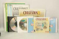 Sid Meier's Civilization II PC Windows Prod. 99227, Hasbro Interactive CD Rom