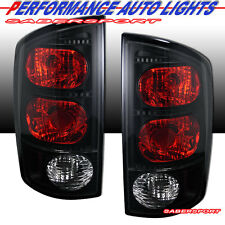 Set of Pair Black Smoke Taillights for 02-05 Dodge Ram 1500 / 03-06 2500 3500