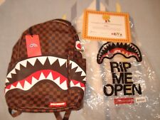 SPRAYGROUND SHARKS in PARIS backpack LV LIMITED SOLDOUT