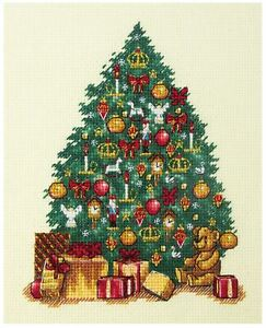 Panna Cross Stitch Kit - Little Christmas Tree