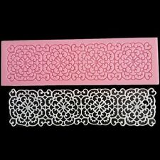 Lace Mat Flower Fondant Silicone Mould Cake Decorating Mold