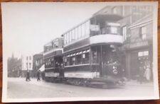 Bolton Tram 81  Vintage Photo Corporation Lancashire Trolley Bus Hargreaves