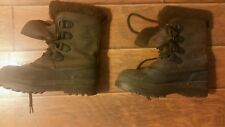 Kamik Mens Leather Waterproof Boots with Liners Mens Size 7