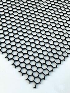 Blech-Zuschnitt 1,0mm stark rostfrei V2A blank gewalzt Edelstahl-Blech nach Ma/ß gelocht B/&T Metall Loch-Blech 50x60cm Loch-Gitter 1.4301 Rund-Lochung /Ø 3mm versetzt RV 3-5