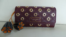 Rare Marc Jacobs Wallet Clutch Antique Eyelet Grommet Made in Italy