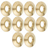 Wood Grip® Swimming Pool Cover BRASS ANCHOR COLLAR - 10 Pack