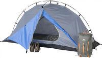 1-Person Backpacking Tent Small Lightweight Waterproof Hiking Sleep Gear Outdoor