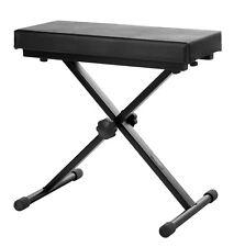 B-WARE Deluxe Profi Keyboard Klavier Piano Sitz Bank Keyboardbank Stuhl Hocker