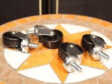 4 Stück Rollen für Marshall 4x12 Lautsprecherbox wie z. B. JCM 900 o.LEAD 1960