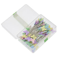 100pcs Butterfly Pins Patchwork Quilting Tools Sewing Handcrafts Supplies USA
