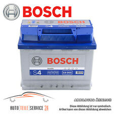 Bosch Autobatterie Starter- batterie Silver 60Ah 12V Akku Citroën Bmw 3er 5er