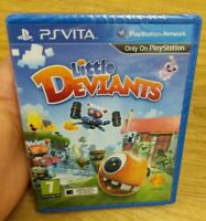 Little Deviants Sony PlayStation PS Vita Game New & Sealed - Free P&P