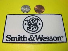 SMITH & WESSON FIREARMS VEST PATCH 2 X 4 INCH SEW ON GUN PATCH*