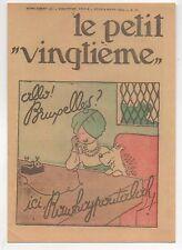 Carte Postale Tintin Le Petit Vingtième n°10 du 8 mers 1934. Cigares du Pharaon