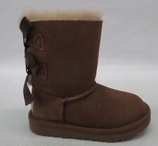 UGG Kids Toddler Classic Bailey Bow II Boot 1017394T Chestnut Size 10
