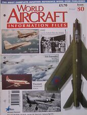 World Aircraft Information Files Issue 80 Grumman A-6 Intruder cutaway & poster