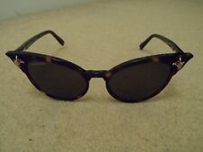 NEW DSQUARED2 LADIES KENDALL DQ239 HAVANA BROWN BARBED WIRE CATS EYE SUNGLASSES