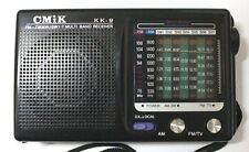 Poste Radio de Poche Portable 9 Bande FM/AM/TV/MW/SW1-7 13X8X3,5mm Pile Fournies