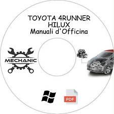 TOYOTA 4RUNNER/HILUX - Guida Manuali d'Officina - Riparazione e Manutenzione!