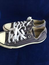 Converse Navy Low Top Trainers Size:5UK
