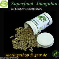 300 Jiaogulan Vegi Kapseln, 100 % vegan (gynostemma pentaphyllum) - Inhalt 135 g