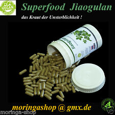 300 Jiaogulan Vegi Kapseln á 450 mg, 100 % Vegan, lat. gynostemma pentaphyllum