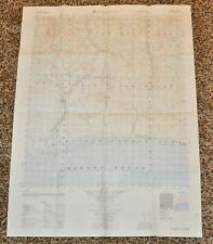 Vintage 1963 US Army Solomon Alaska First Edition Topographical 1:50,000 Map