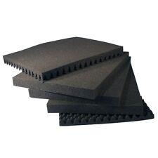 Koffer einlagen Noppen Raster Schaum stoff SET ca. 51x28x19 cm (61507)