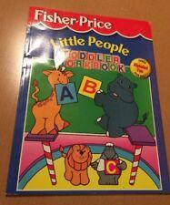 Fisher-Price Little People Toddler Workbook: Alphabet Fun