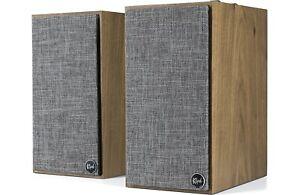 Klipsch The Fives 2.0 Channel Bookshelf Speakers - Walnut (Pair)