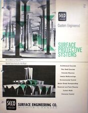 SECO Surface Engineering Company Asbestos Asbestic Roof Roofing 1963 Catalog