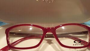 OAKLEY OX1089-0453 Eyeglass Frames Render Redline PINK CHROME 53 16 140 New
