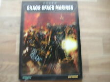 CODEX CHAOS  SPACE MARINES / ENGLISH/ WARHAMMER 40000 W40K 40K/F