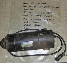 Emco Compact 5 Lathe / F1 CNC Mill 95V DC Spindle Motor Baumuller Nurnberg  0401