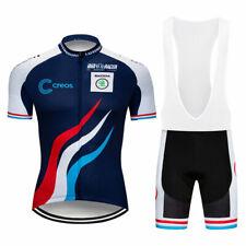 XSU139 Road Mens Racing MTB Cycling Short Sleeve Jersey and bib Shorts