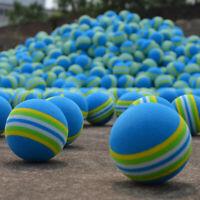 20/50Pcs Sponge Golf Balls Light Indoor Outdoor Training Practice Foam AU STOCK