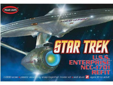 Polar Lights Round 2,LLC 1/1000 USS Enterprise NCC-1701A Plastic Model Kit