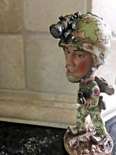 Military Bobble Head. Great Gift.Military-themed decor FREE SHIPPING