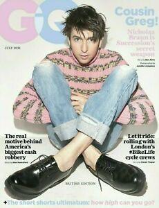 GQ British Edition Magazine July 2021 Cousin Greg Cover NEW