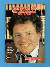 ►TELE JOURNAL 255 - 1979 - JACQUES MARTIN - NICOLE RIEU - COLETTE RENARD