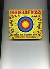 THEIR GREATEST MISSES - BRENDA LEE ETTA JAMES JOHNNY CASH VIDELS - 3 CDS - NEW!!