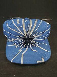 Starter Pro Line NFL Snapback Hat Cap Shockwave Shatter Dallas Cowboys 90s