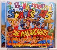 Ballermann Mallorca Hits 2015 + 2 CD Set + 40 Songs Urlaub mit Stimmungsgarantie