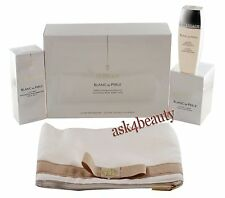 Guerlain Blanc De Perle Whitening Pearl Perfection 3 Step Set With Bag In Box
