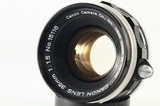 """RARE"" Canon 35mm F/1.5 Leica Screw Mount LTM 39 Lens.""MINT"" From Japan#1511"