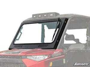 SuperATV Full Glass Windshield for Polaris Ranger XP 900 (2013-2019)