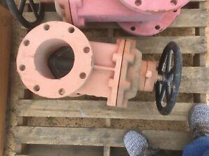 """6"""" Gate Valve 250S 500 WOG 6 inch Flanged gate valve 250 S 500 WOG"""