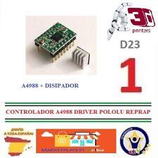 Controlador A4988+Disipador Stepper Driver Pololu Motor Paso Paso Reprap 3D D23