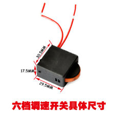 230V 120V 5E4 Electric Power Tool Speed Controller Switch FA-8/1FE 6 Positions